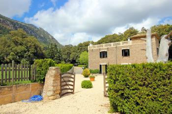 Finca in Orient für Radurlaub auf Mallorca