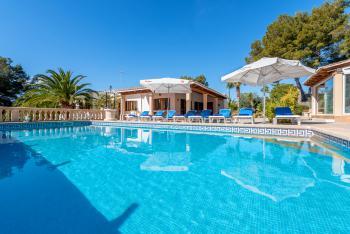 Ferienhaus mit Pool - Strandurlaub Cala Murada