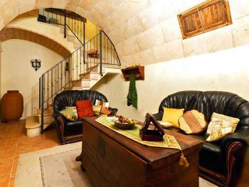 Sitzecke im Untergeschoss