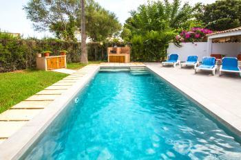 Ferienhaus mit Pool bei Sa Pobla