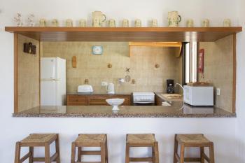 Küche mit Frühstückstresen