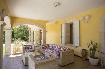 Terrasse im Eingangsbereich