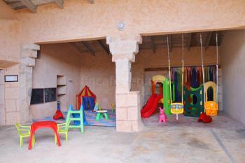 Spielhaus für die kleinen Gäste