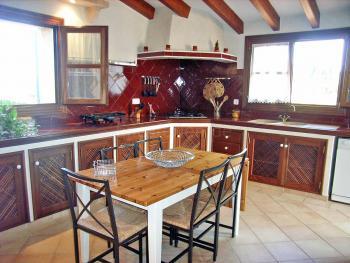 Küche im spanischen Stil