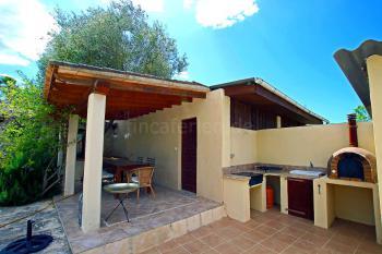 Terrasse und Außenküche