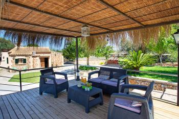 Chill-Out-Terrasse zum Relaxen