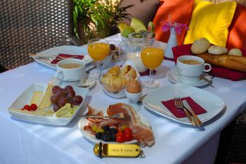Frühstück genießen