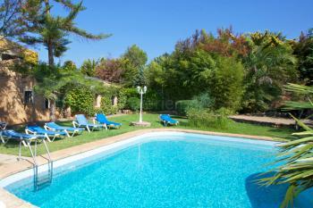Familienurlaub im Ferienhaus mit Pool