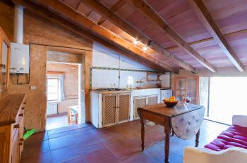 Küche in oberer Wohnebene