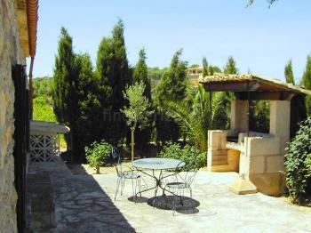 Terrasse vom Ferienhaus