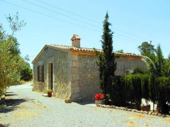 Separates Ferienhaus auf einer Finca