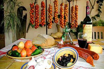 Landgut mit Restaurant und Gemüsegarten