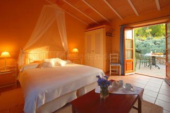 Schlafzimmer im Apartment (Beispiel)