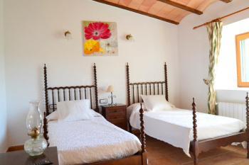 Doppelzimmer mit Einzelbetten - oben