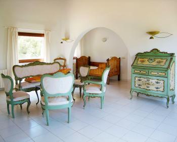 Salon im Obergeschoss