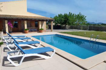 Ferienhaus Can Picafort mit Pool