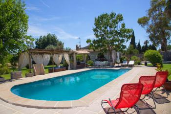 Finca mit Pool, Whirlpool und Garten