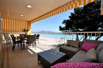 Ferienwohnung am Strand von Alcudia