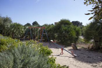 Kleiner Spielplatz