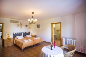 Schlafzimmer mit Bad en Suite - barrierefrei
