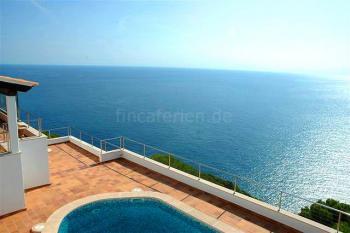 Villa mit tollem Meerblick bei Costa Canyamel