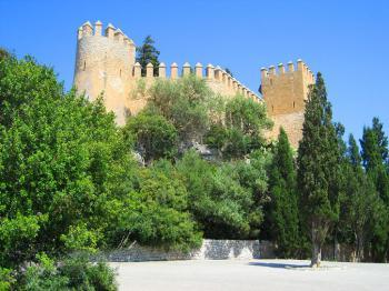 Festung oberhalb von Arta