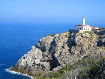 Leuchtturm bei Cala Ratjada