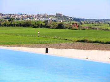 Blick vom Pool auf Santa Margalida