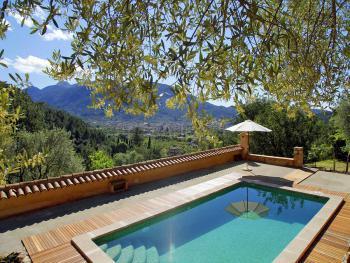 Ferienhaus mit Salzwasser-Pool