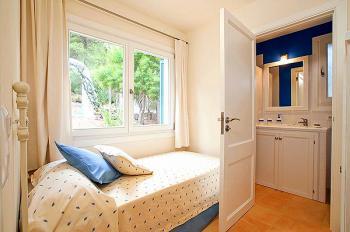 Einzelzimmer mit Bad en Suite
