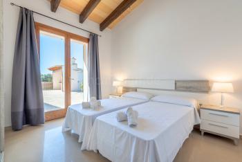 Schlafzimmer mit Terrasse, Klimaanlage