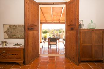 Eingangsbereich der mallorquinen Finca