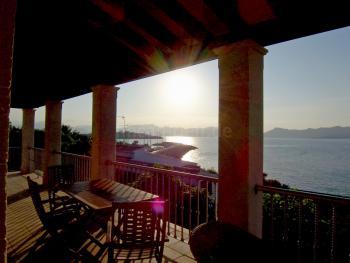 Ferienhaus mit tollem Meerblick