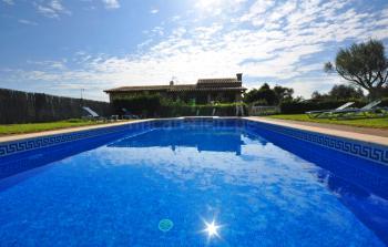 Ferienhaus mit Pool in Muro