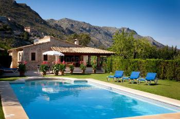 Pool, Terrasse, Garten