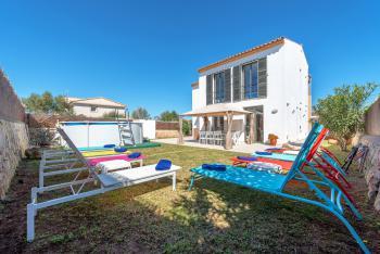 Strandurlaub - Ferienhaus in Portocolom