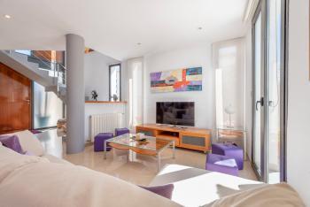 Helle Räume mit Zentralheizung