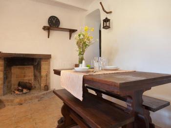 Essplatz in der offenen Küche