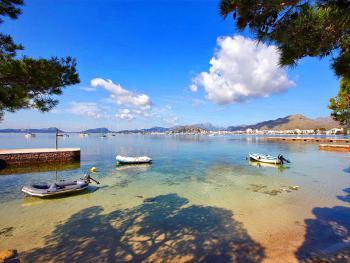 Blick auf Port de Pollenca