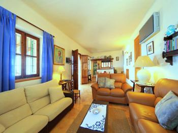 Wohnraum mit Klimaanlage