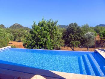 Mallorca Golfurlaub, Finca mit Pool