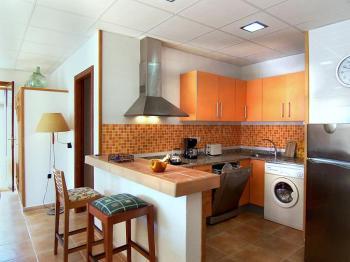 Moderne Küche - Untergeschoss