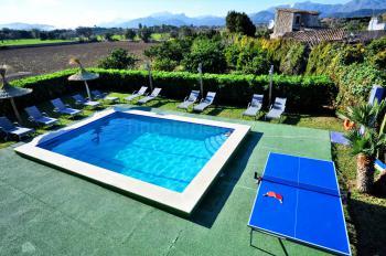 Ferienhaus mit Pool bei Alcudia
