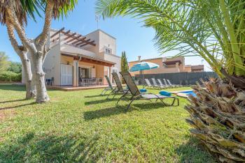 Strandurlaub Cala Murada - Ferienhaus mit Pool