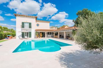 Villa mit Pool und Klimaanlage - Cala Blava
