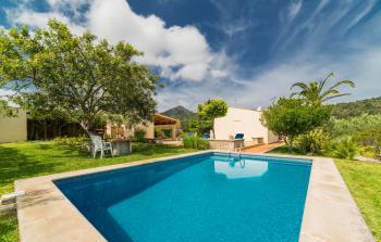 Pollenca: Ferienhaus mit Pool und Klimaanlage