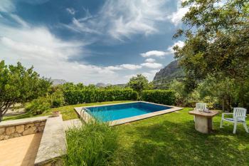 Pool, Garten, Sonnenterrasse