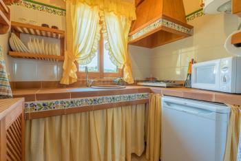 Kleine mallorquine Küche