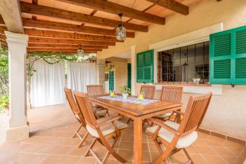 Ferienhaus für 8 Personen - Terrasse