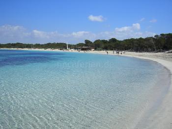 Mallorca Urlaub am Es Trenc Strand